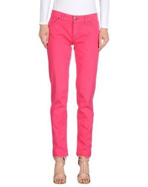 Джинсовые брюки BASICON. Цвет: фуксия