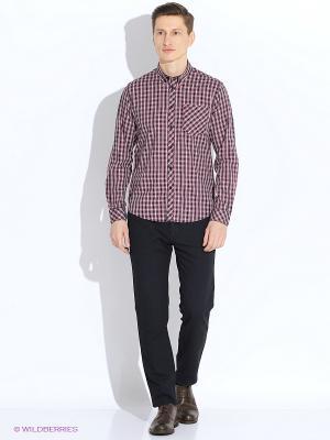 Рубашка MERC. Цвет: черный, белый, красный