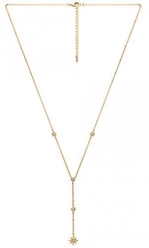 Ожерелье в форме лассо stardust Child of Wild. Цвет: металлический золотой
