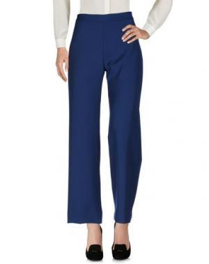 Повседневные брюки FACE TO. Цвет: синий