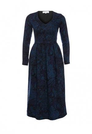 Платье Elmira Markes. Цвет: синий