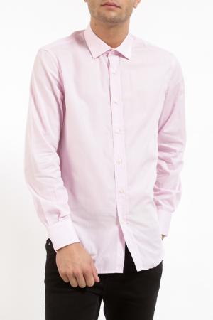 Рубашка Pierre Balmain. Цвет: розовый