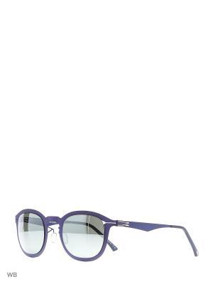Солнцезащитные очки GT 003S 07 Greater Than Infinity. Цвет: голубой