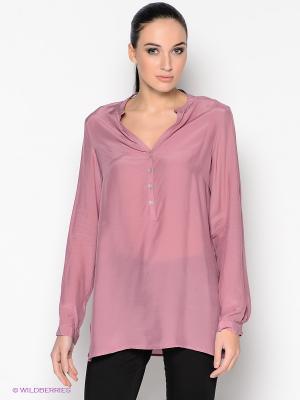 Блузка MILANO ITALY. Цвет: лиловый