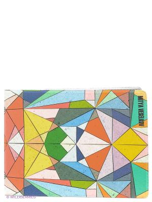 Обложка для студенческого Мозаика Mitya Veselkov. Цвет: зеленый, желтый, красный