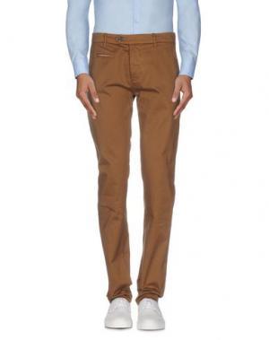 Повседневные брюки NOVEMB3R. Цвет: верблюжий