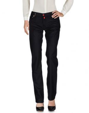 Повседневные брюки KITON. Цвет: черный