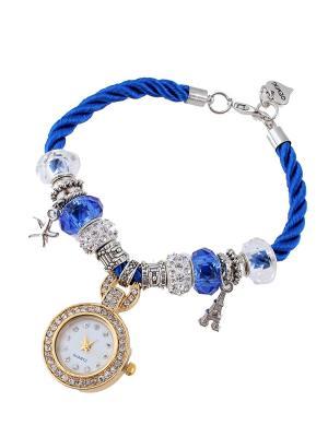 Браслет-часы Migura. Цвет: серебристый,золотистый,синий