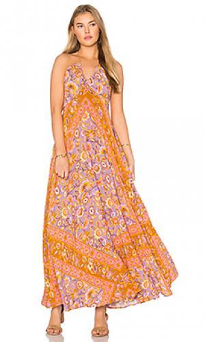 Платье холтер lolita Spell & The Gypsy Collective. Цвет: розовый