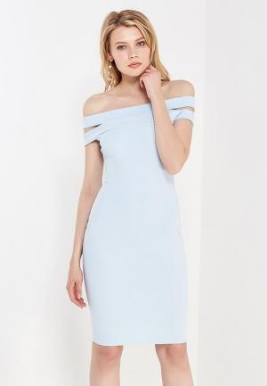 Платье City Goddess. Цвет: голубой