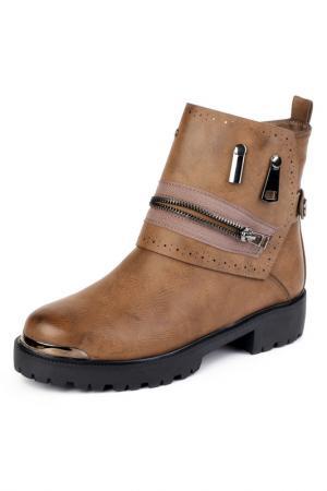 Ботинки Brocoli. Цвет: коричневый