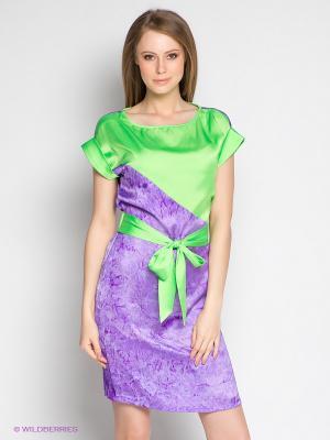 Платье Xarizmas. Цвет: сиреневый, фиолетовый, зеленый