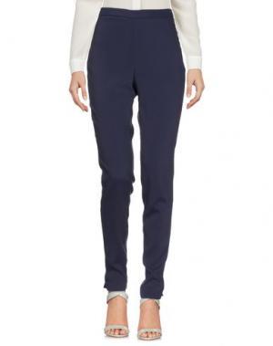 Повседневные брюки GOTHA. Цвет: синий