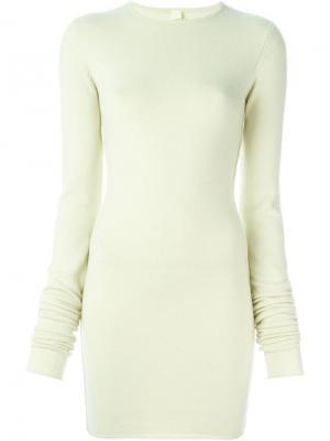 Платье NO5 Extreme Cashmere. Цвет: жёлтый и оранжевый