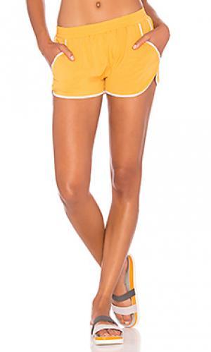 Шорты sprint Splits59. Цвет: желтый