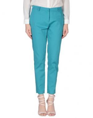 Повседневные брюки MEM.JS. Цвет: изумрудно-зеленый