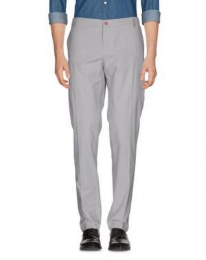 Повседневные брюки DIMATTIA. Цвет: светло-серый