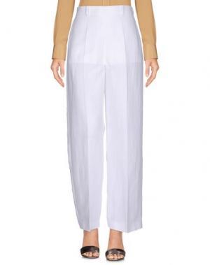 Повседневные брюки MANTÙ. Цвет: белый
