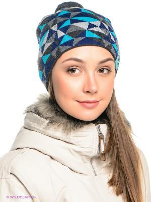 Шапка Ensis. Цвет: темно-серый, голубой, светло-серый, темно-синий, серый