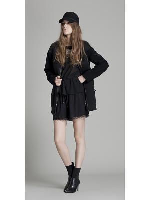 Куртка Oky Coky. Цвет: черный