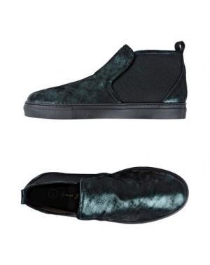 Высокие кеды и кроссовки GEORGE J. LOVE. Цвет: зеленый