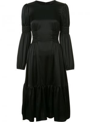 Платье с присборенной отделкой Co. Цвет: чёрный