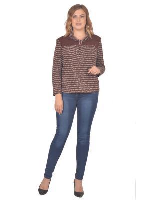 Кофточка Томилочка Мода ТМ. Цвет: коричневый, бежевый
