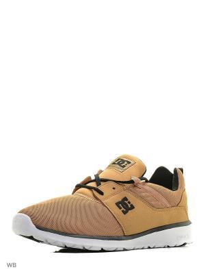 Кроссовки DC Shoes. Цвет: бежевый