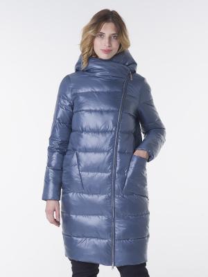 Пальто CATTAIL WILLOW. Цвет: серо-голубой