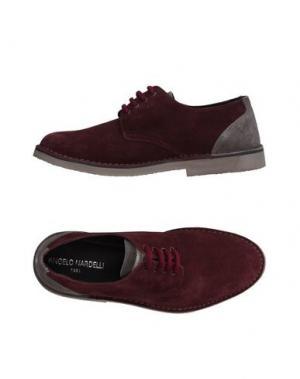 Обувь на шнурках ANGELO NARDELLI. Цвет: красно-коричневый