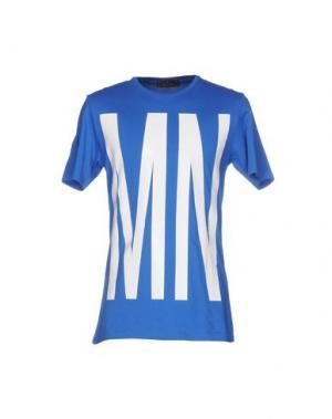 Футболка MNML COUTURE. Цвет: ярко-синий