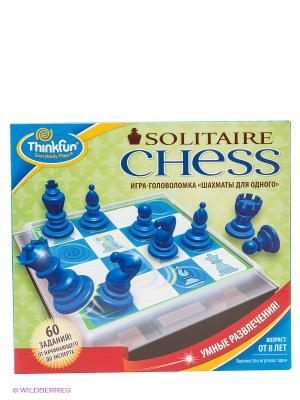 Игра Шахматы для одного Think Fun. Цвет: синий