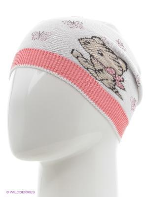 Шапка Totti. Цвет: белый, розовый