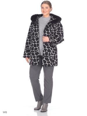 Пальто Fart Favorita. Цвет: черный, серый