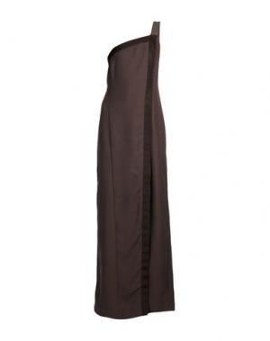 Длинное платье SIENNA. Цвет: хаки