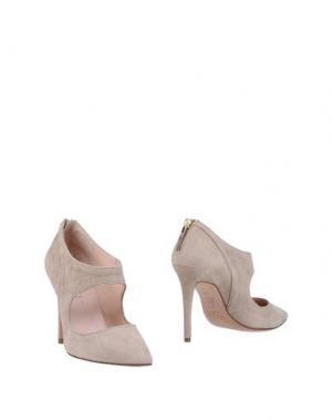 Ботинки PURA LÓPEZ. Цвет: серый