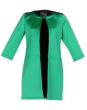 Легкое пальто ES'GIVIEN. Цвет: зеленый