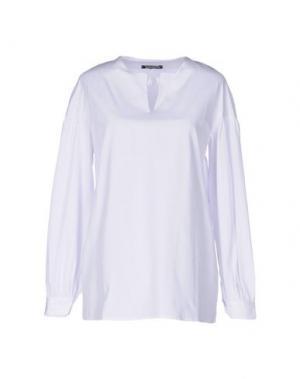 Блузка NINEMINUTES. Цвет: белый