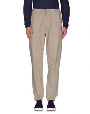 Джинсовые брюки HTC. Цвет: песочный