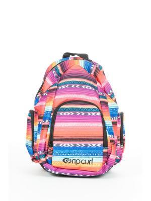 Рюкзак LOLITA BACKPACK Rip Curl. Цвет: голубой, лиловый, малиновый, оранжевый, розовый