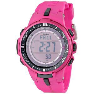 Электронные часы женские  Sport PRW-3000-4B Pink Casio. Цвет: розовый