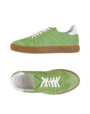 Низкие кеды и кроссовки NBR¹. Цвет: зеленый