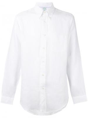 Рубашка Milano Brooks Brothers. Цвет: белый