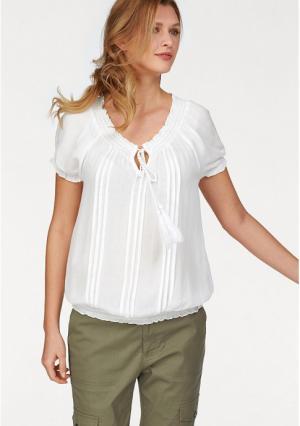Блузка CHEER. Цвет: цвет белой шерсти