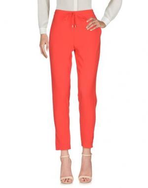 Повседневные брюки I BLUES. Цвет: красный