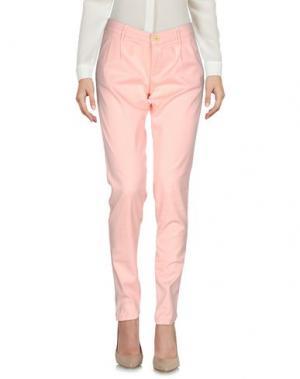 Повседневные брюки 0/ZERO CONSTRUCTION. Цвет: розовый