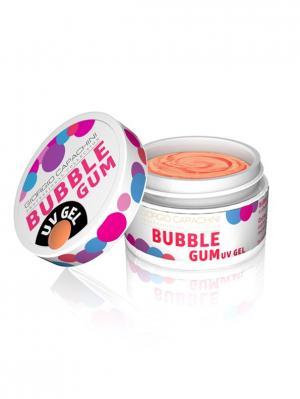 Гель для объемного дизайна Bubble Gum №02, 7 мл Giorgio Capachini professional collection. Цвет: оранжевый