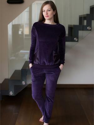 Домашний костюм CATHERINE'S. Цвет: фиолетовый