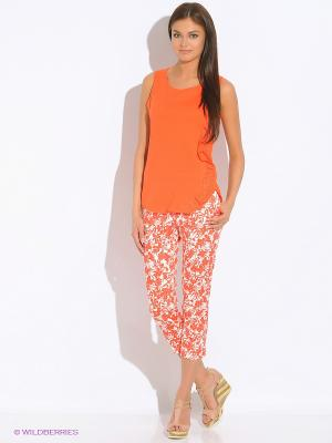 Капри Sisley. Цвет: оранжевый