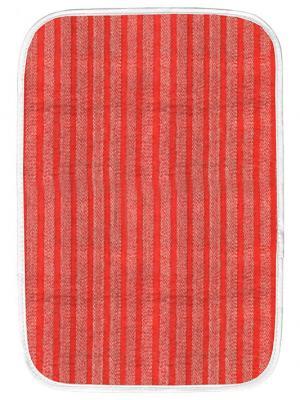 Коврик для дома полоска, 50х75 см IQ-KOMFORT. Цвет: красный